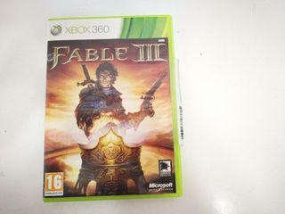 Videojuego Xbox 360 Fable III