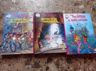lote de 3 libros Tea Stilton