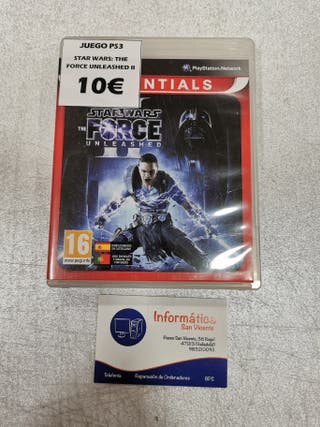 Videojuego Star Wars: The Force Uleashed II / PS3