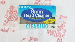 Cinta limpiadora sony v8-25cld video 8mm