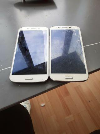 se vende dos móviles sin batería y sin cargador