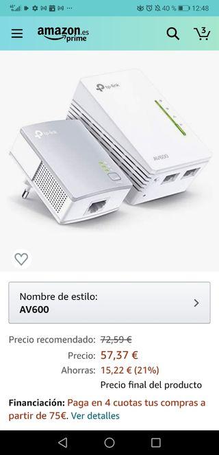 TP-LINK PLC wifi-ethernet 600Mbps
