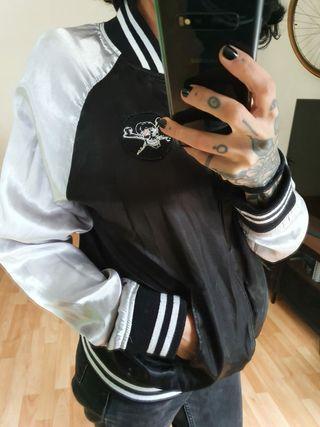 chaqueta vintage reversible