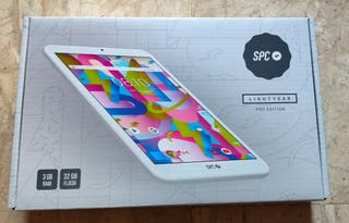 Tablet SPC. 32GB y 3GB RAM + Funda