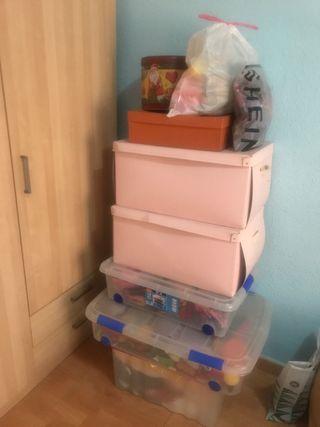 Gran lote de juguetes de niña