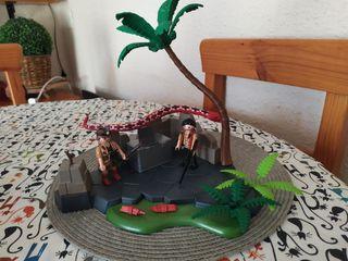 Playmobil buscadores de tesoros