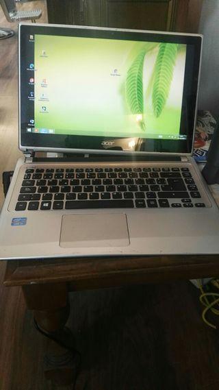Portátil Acer modelo V5 pantalla touch