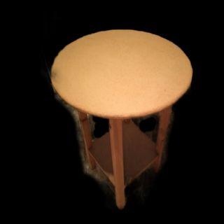 mesa camilla con dos manteles