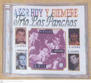 TRIO LOS PANCHOS (AYER HOY Y SIEMPRE) CD 1995 USA