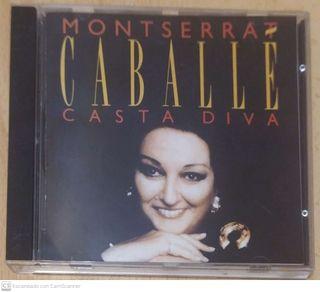 MONTSERRAT CABALLE (CASTA DIVA) CD 1994