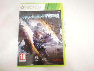 Videojuego Xbox 360 Metal Gear Rising