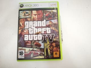Videojuego Xbox 360 Grand Theft Auto Iv