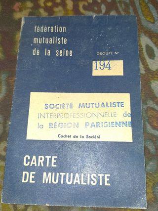 carte de mutualiste