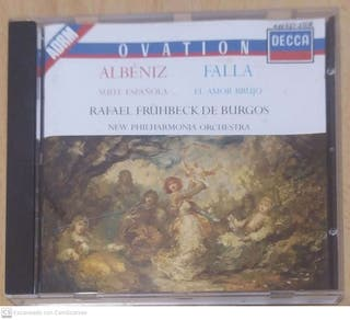 ALBEÑIZ (SUITE ESPAÑOLA) FALLA (EL AMOR BRUJO) CD