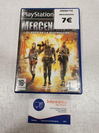 Videojuego Mercenarios / PS2
