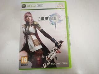 Videojuego Xbox 360 Final Fantasy XIII