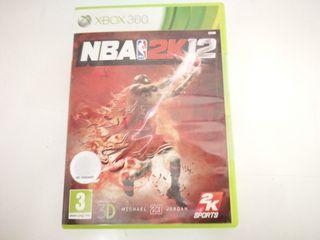 Videojuego Xbox 360 Nba 2k12