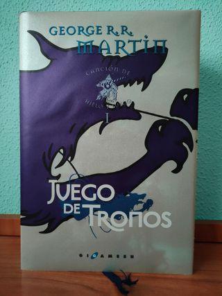 """JUEGO DE TRONOS, """"CANCIÓN DE HIELO Y FUEGO"""" I."""