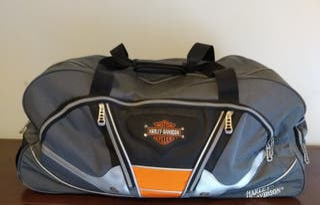 Mochila maleta bolsa viaje ruedas Harley Davidson