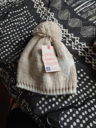 gorro lana capo