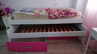 Vendo cama nido de 90