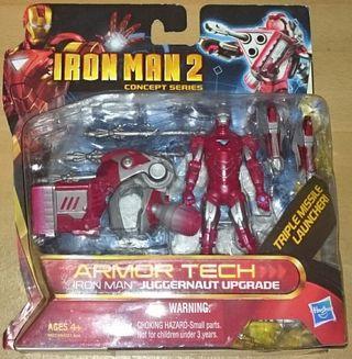 Iron Man 2 Concept Series Armor Tech Juggernaut