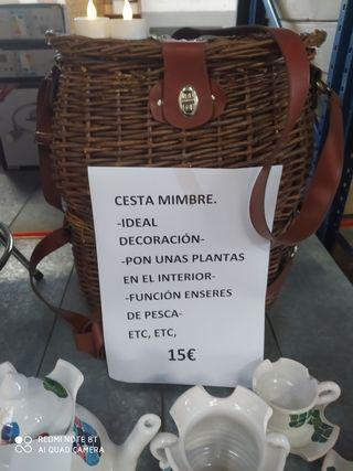 CESTA DE MIMBRE MULTIFUNCIÓN