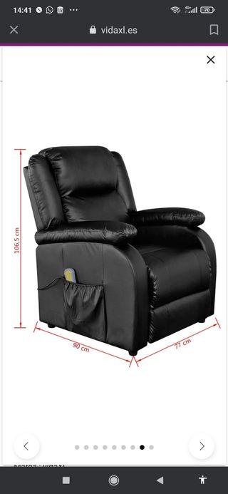 sillón masajes relax