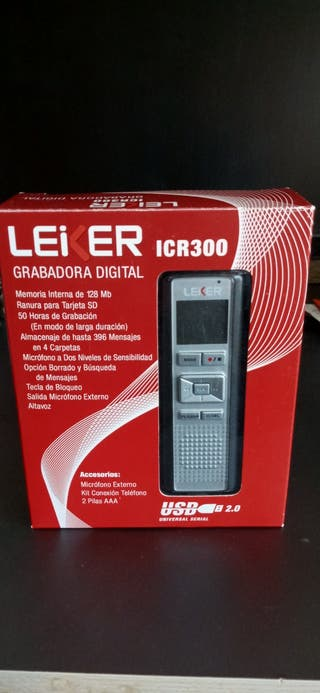 Grabadora audio digital