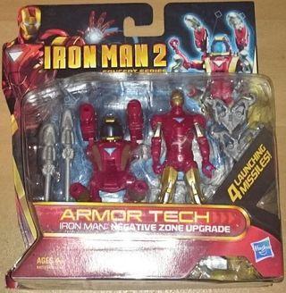 Iron Man 2 Concept Series Armor Tech Negative Zone