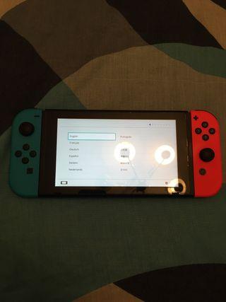 Nintendo Switch comprada 08/01/21