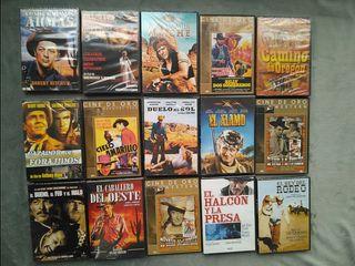 DVD Cine del Oeste precintados