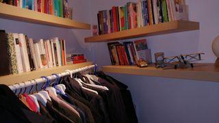 4 estantes madera