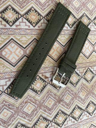 Correa nylon/piel