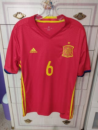 Camiseta selección española 2016 Iniesta