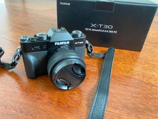 Fujifilm X-T30 + Objetivo 15-45