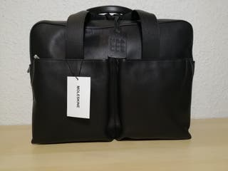 MOLESKINE maletín business piel negro