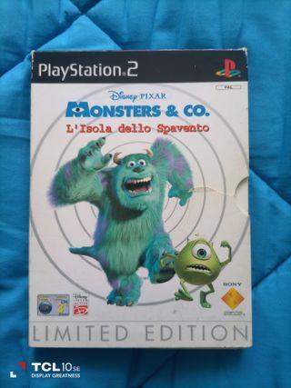 Monstruos.PlayStation 2. Ps2.
