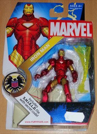 Marvel Universe nº 001 figura Iron Man