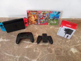 Pack Nintendo Switch Cambio o venta