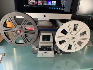 Escaner de películas Super8 y 8mm