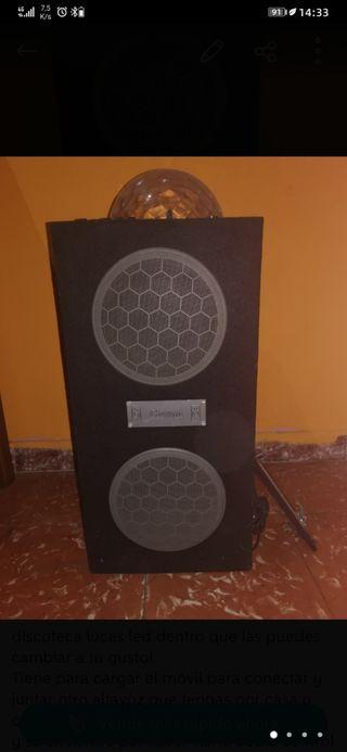altavoz 300w Bluetooth