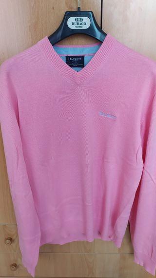 jersey Hackett rosa talla M