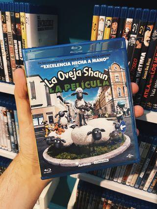 La oveja Shaun La película Bluray