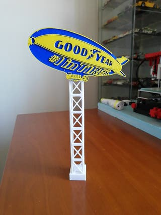 Torre Goodyear Scalextric