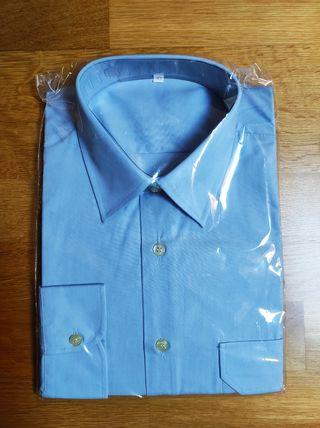 NUEVA Camisa azul para Hombre talla: M
