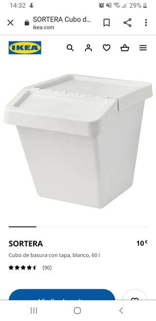 CUBOS BASURA RECICLAJE IKEA