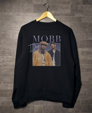Sudadera Jersey NUEVA MobbDeep 90s rap hip hop