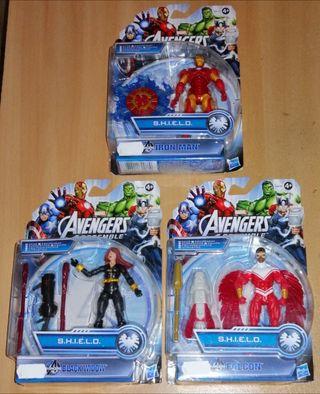 Marvel Avengers Assemble S.H.I.E.L.D. 3 figuras