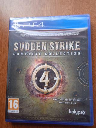 Sudden Strike Complete Collection Precintado Ps4